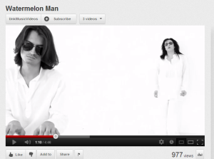 Youtube_WaterMelon Man