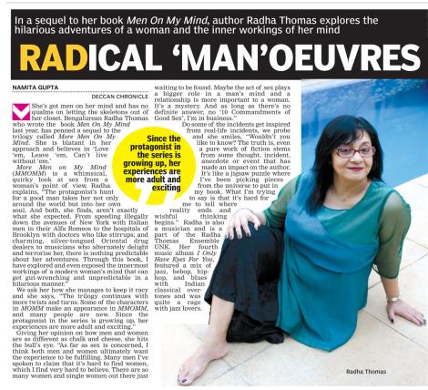 Radical Maneuvres, DNA Bangalore August 10, 2014